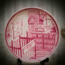 keepsake plate keepsake birth plate