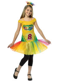 crayon halloween costume party city tween tutu crayon dress