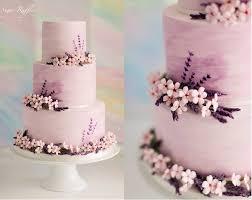 wedding cake decoration purple lilac lavender wedding cakes cake magazine