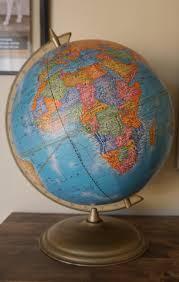 cram u0027s imperial world globe vintage 12 inch earth globe vintage