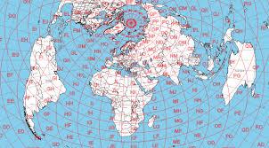 Azimuthal Map Ur4nww Hamradio Azimuthal Map Ur4nww радиолюбительская