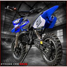 50cc motocross bike crx race 50cc mini dirt bike in blue xtreme toys
