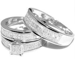 womens wedding ring sets ring b beautiful wedding ring sets white gold trio wedding set