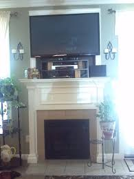 Mounting A Tv Over A Gas Fireplace by Help With Mounting Flat Screen Tv Over Fireplace Knockout
