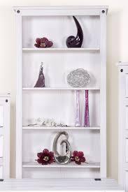 white open bookcase corona white pine tall bookcase corona