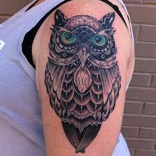 Owl Shoulder - best 24 owl tattoos design idea for and tattoos ideas
