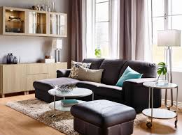 define livingroom a light living room furnished with a light blue two seat sofa with