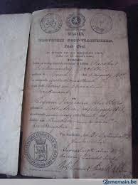 documents mariage documents anciens carnets mariage de 1800 a vendre 2ememain be