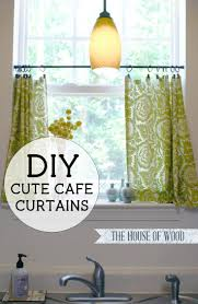 Curtains Kitchen Best 25 Cafe Curtain Rods Ideas On Pinterest Burlap Curtains