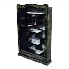 curio display cabinet plans awesome oriental lacquer furniture gloss black wall display cabinet