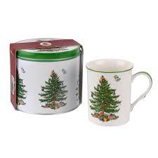 spode christmas tree mug u0026 tin set u2013 house of portmeirion