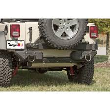 Rugged Ridge 8500 Winch 11541fw Front Aluminum Xhd Bumper Rear Pods Tire Carrier And Winch
