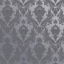 Self Adhesive Wallpaper Damsel Textured Self Adhesive Wallpaper In Blue Pearl Design By
