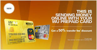 online prepaid card sending money online with your wu prepaid card western union