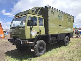 chevy earthroamer bae military rv overland expedition vehicle the fast lane truck