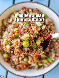 Best Salad Recipes Mediterranean Quinoa Salad Give Recipe