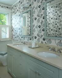 bathroom wallpaper ideas home decor gallery