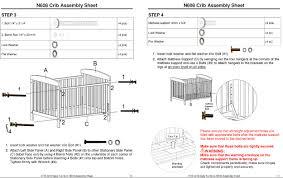 Babi Italia Crib Instructions by Baby Crib Mattress Support Delta Dropside Crib Recall On June