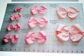 hair bow maker how much ribbon is needed for each sized bow so necessary bow