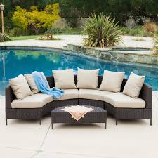 low profile sofas mercury row dowd low profile 5 piece seating group with cushion