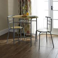 dining room breakfast 3 pieces dining sets in the corner made of