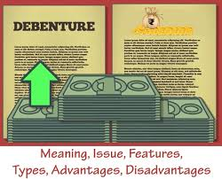 Types Meaning Debentures Meaning Issue Features Types Advantages