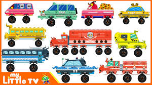 kids halloween clipart monster street vehicles scary vehicles for kids halloween