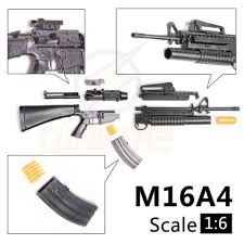 pubg guns playerunknown s battlegrounds pubg 1 6 1 6 action figure m16a4 gun