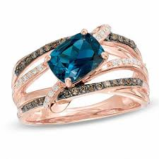 rings blue topaz images Blue topaz december birthstone birthstones collections zales jpg
