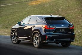 lexus years models 2016 lexus rx 350 f sport and rx 450h show up in nyc autoevolution