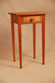 tall side table with drawers tall end tables uk in nice end table fiddle back maple with end