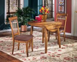 ashley furniture berringer hickory stained hardwood round drop