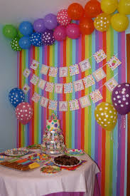 birthday decor ideas at home crafty design party wall decorations decoration ideas home wall