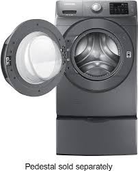 samsung 4 2 cu ft 9 cycle high efficiency steam front loading