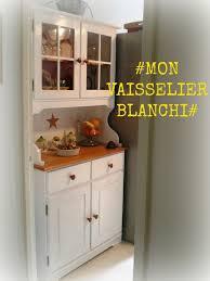Vaisselier Cuisine Pas Cher by Kitchen Buffet Buffet Vaisselier De Cuisine Repeint En Blanc Et