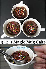 3 2 1 magic mug cake the monday box