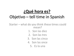 la hora by amazonsam teaching resources tes