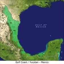 map of mexico yucatan region gulf coast yucatan mexico