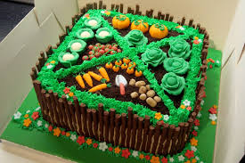 vegetable garden cake cake by wooden heart cakes fancy that