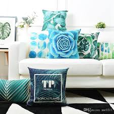 Custom Made Patio Furniture Covers by Custom Made Leaves And Succulents Cushions Covers Home Decor