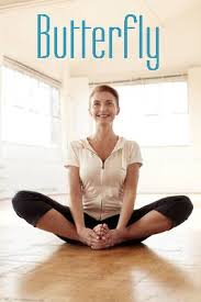 butterfly pose benefits stretches legs thighs gets rid of