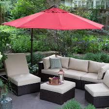 10 Foot Patio Umbrella Treasure Garden 10 Ft Obravia Cantilever Octagon Offset Patio