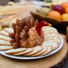 thanksgiving table with turkey thanksgiving table turkey cheese ball recipe make life lovely