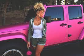 girls jeep wrangler jena frumes pink jeep wrangler chrome lips