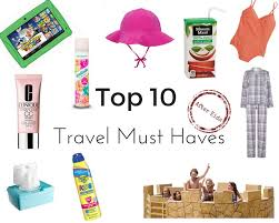 10 Must Travel Essentials For by Top 10 Must Haves With A Twist Markwarnermum