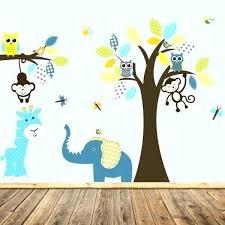 stickers savane chambre bébé stickers pour chambre bebe garaon sticker chambre bebe la jungle