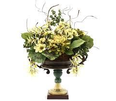 artificial flower decoration for home hand made dining table centerpiece silk flower arrangement home