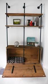 Galvanized Pipe Shelving by House Of Habit Home Works Pipe Shelf Unit In Boys Room Home