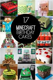 17 of the coolest minecraft birthday cakes ever created
