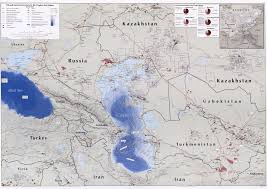 Russia And Central Asia Map by Central Asian Maps